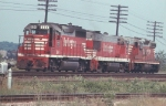 CB&Q 634, 107, and 324